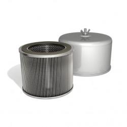 Vzduchový filtr s integrovaným tlumením hluku FT.119.18P pro dmychadla